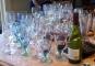 The Author enjoys a good glass of wine